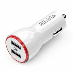 Anker 12v Power Drive 2 Car Charger Dual Port USB 24W IPHONE