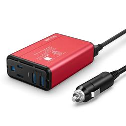 BESTEK 150W/300 WATT Car Power Inverter Laptop Phone Charger