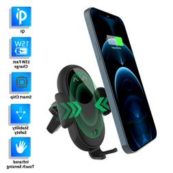 15W Qi Car Wireless Fast Charger Phone Charging Holder Mount