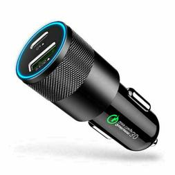 18W PD Type C 3.0 Fast Car Charger Adapter USB Charging For