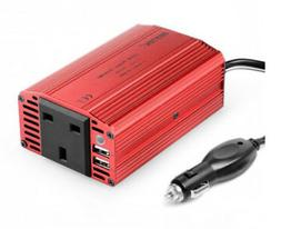 Bestek 300w Power Inverter DC 12v to 110v AC Car With 4.2a D