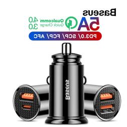 Baseus 30W <font><b>Car</b></font> <font><b>Charger</b></fon