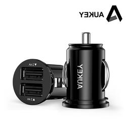 AUKEY 2 Dual Port  USB Car Charger Universal Charging Adapte