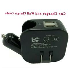 Car Wall Charger Dual USB 2.1A For iPhone Samsung HTC LG Uni
