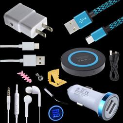 Charger Bundles Car Wall Wireless Pad Cables for Samsung Gal