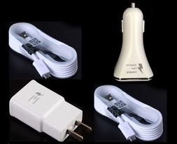 NEW Fast Charger+Car Charger For Samsung Galaxy S8 S8 Plus S