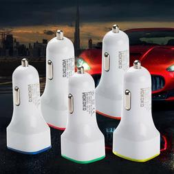 Accessories Phone Adaptor Car Charger  Dual Usb 2-port 2.1a/