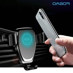 FDGAO Automatic Gravity Qi Wireless <font><b>Car</b></font>