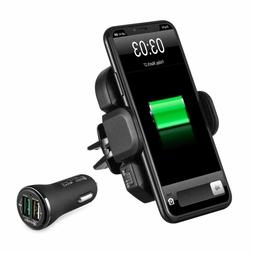 IKOPO Automatic Wireless Car Charger,Phone Holder for Car Mo