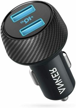 Car Charger Anker 30W Dual USB Car Charger with PowerIQ 2.0