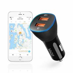 Roav Car Charger by Anker  SmartCharger Spectrum Locator 30W