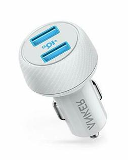 Car Charger , Anker 30W 12V Dual USB Fast Charger