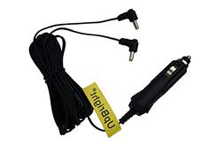 UpBright 9V-12V Car 2 Output DC Adapter Replacement For Insi