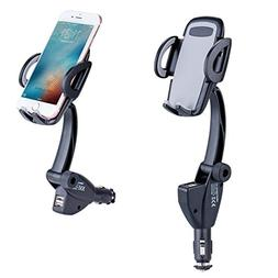Car Mount Charger Phone Holder, LinkStyle Car Cell Phone Hol