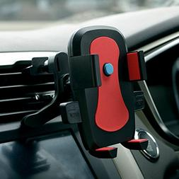 Car Phone Mount,One-hand Design Car Phone Holder for iPhone