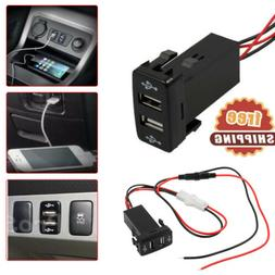 Car Socket Lighter Charger Adapter Twin Dual Double Port 2 U