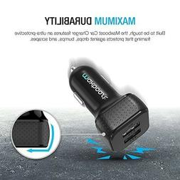 Maxboost 4.4A/22W Dual-Port USB Car Charger