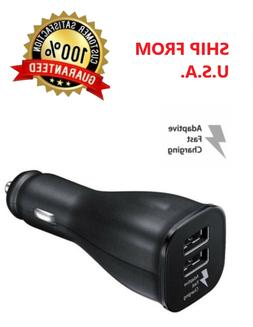 Dual USB Port Car Charger Adapter Fast Charging for iPhone S