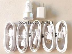 Fast Charging set- Wall Charger + Car Charger+ Micro USB Cab