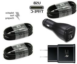 Fast Wall/Car Charger Type C USB-C Cable For OEM Samsung Gal