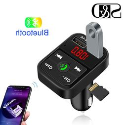 <font><b>Car</b></font> Kit Bluetooth Handsfree Wireless FM