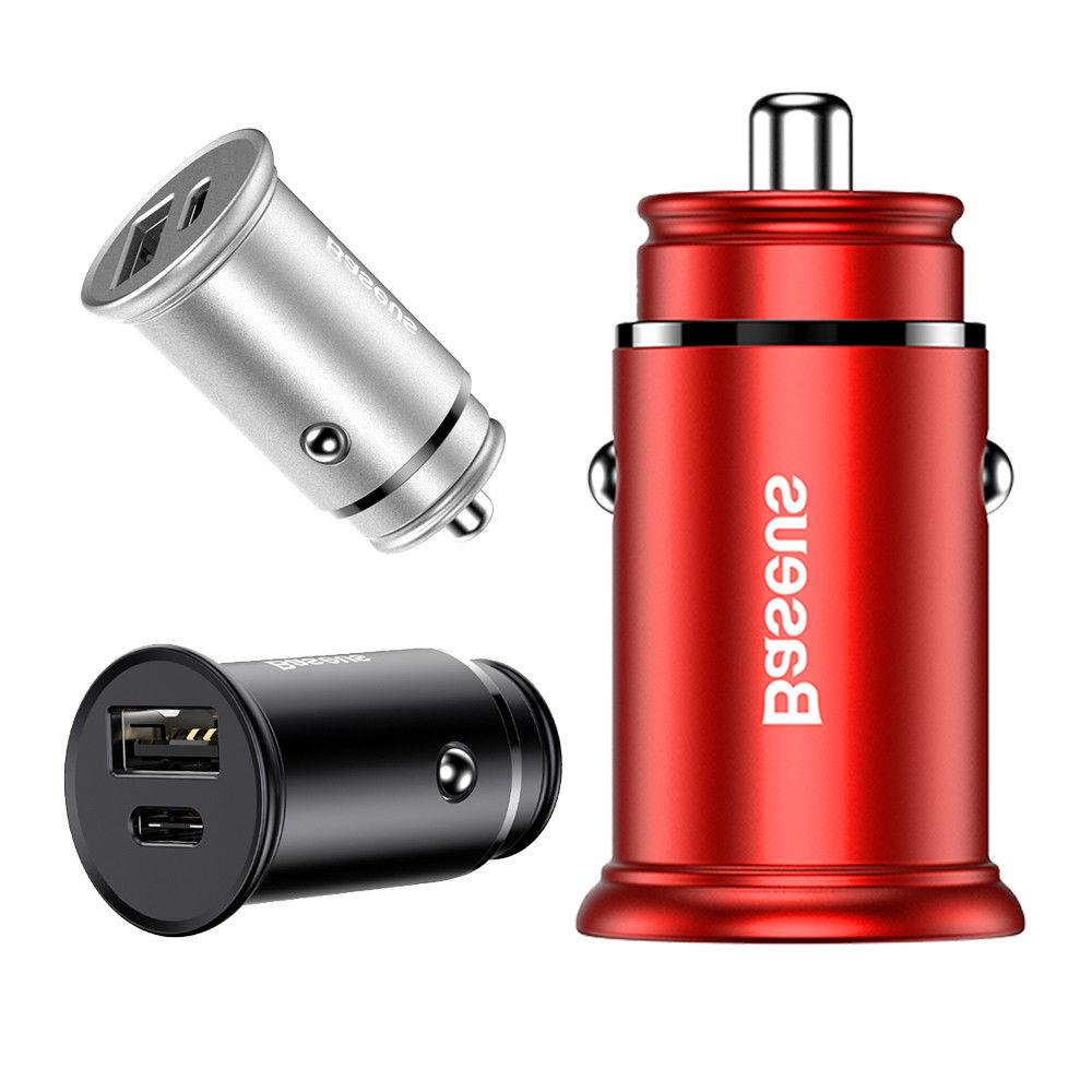 30w fast charging car charger usb type