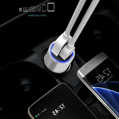dodocool 33W Dual Port Car Charger USB-A and Charging Ports...