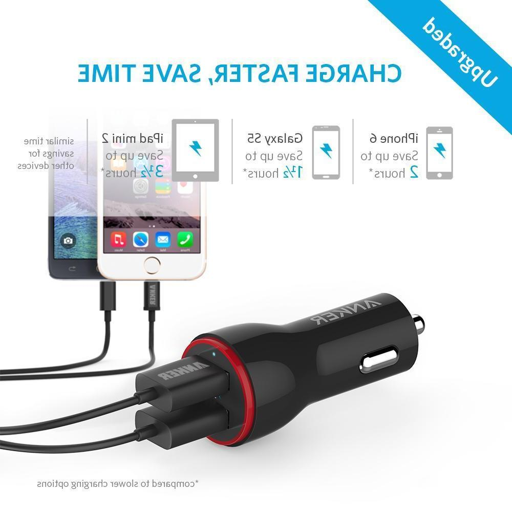 Anker 4.8A 2-Port USB for Galaxy