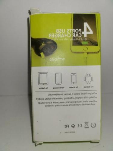 4 Ports Car Charger