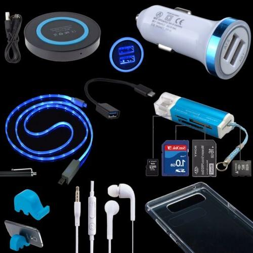 9 accessory case car qi charger cable