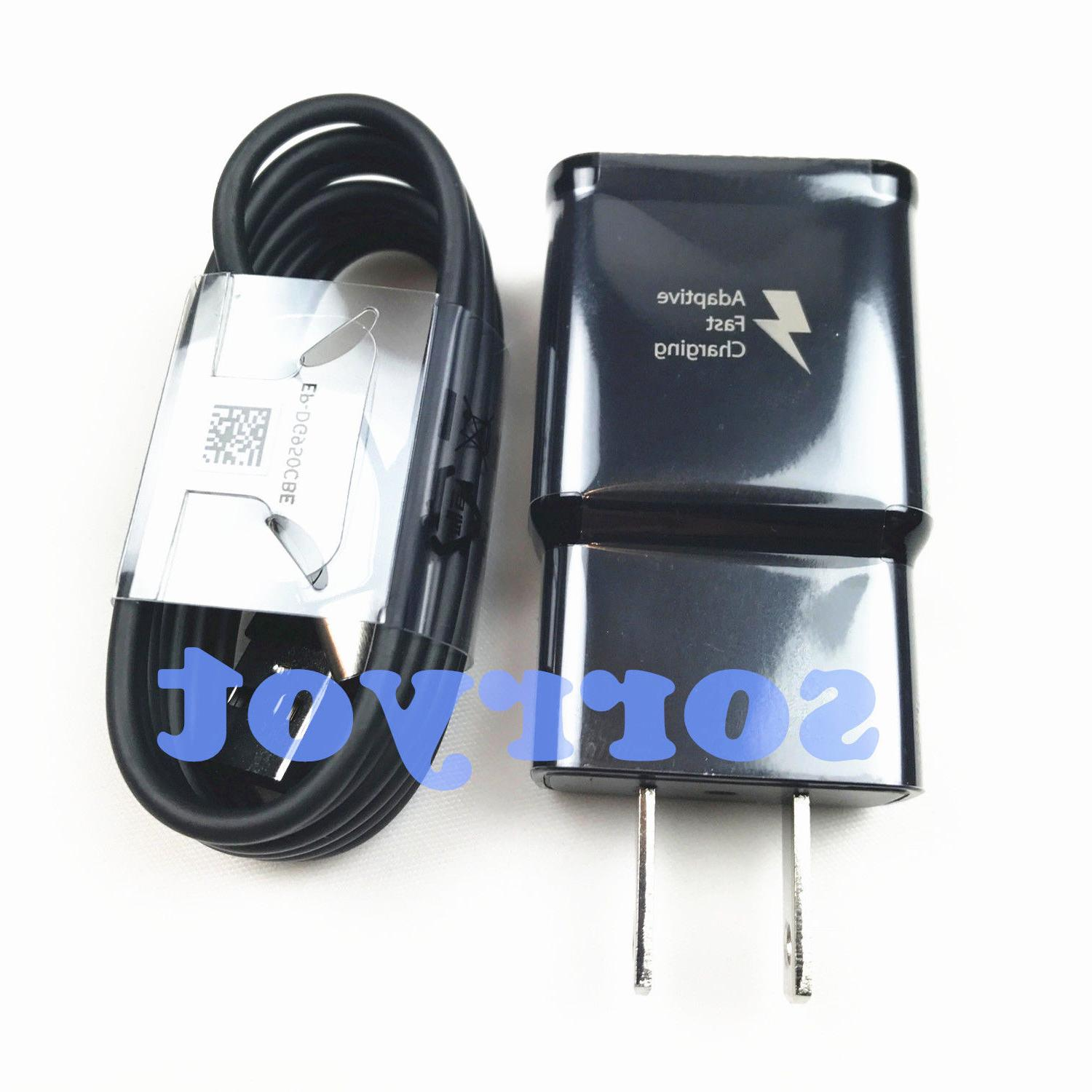 OEM Galaxy S8 Fast Car Wall Type-C Cable LOT