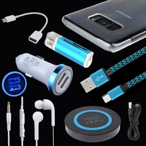 Accessory Wireless Car Charger Cable Headset Case for Samsun