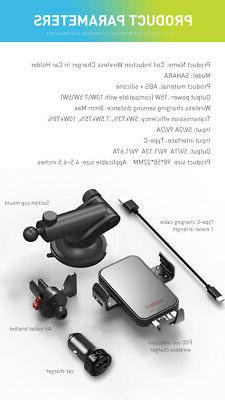 5 Charger 15W QI Clamping Phone Holder