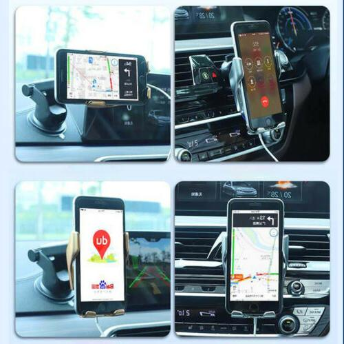 Automatic Clamping Wireless Car Charger Air Vent