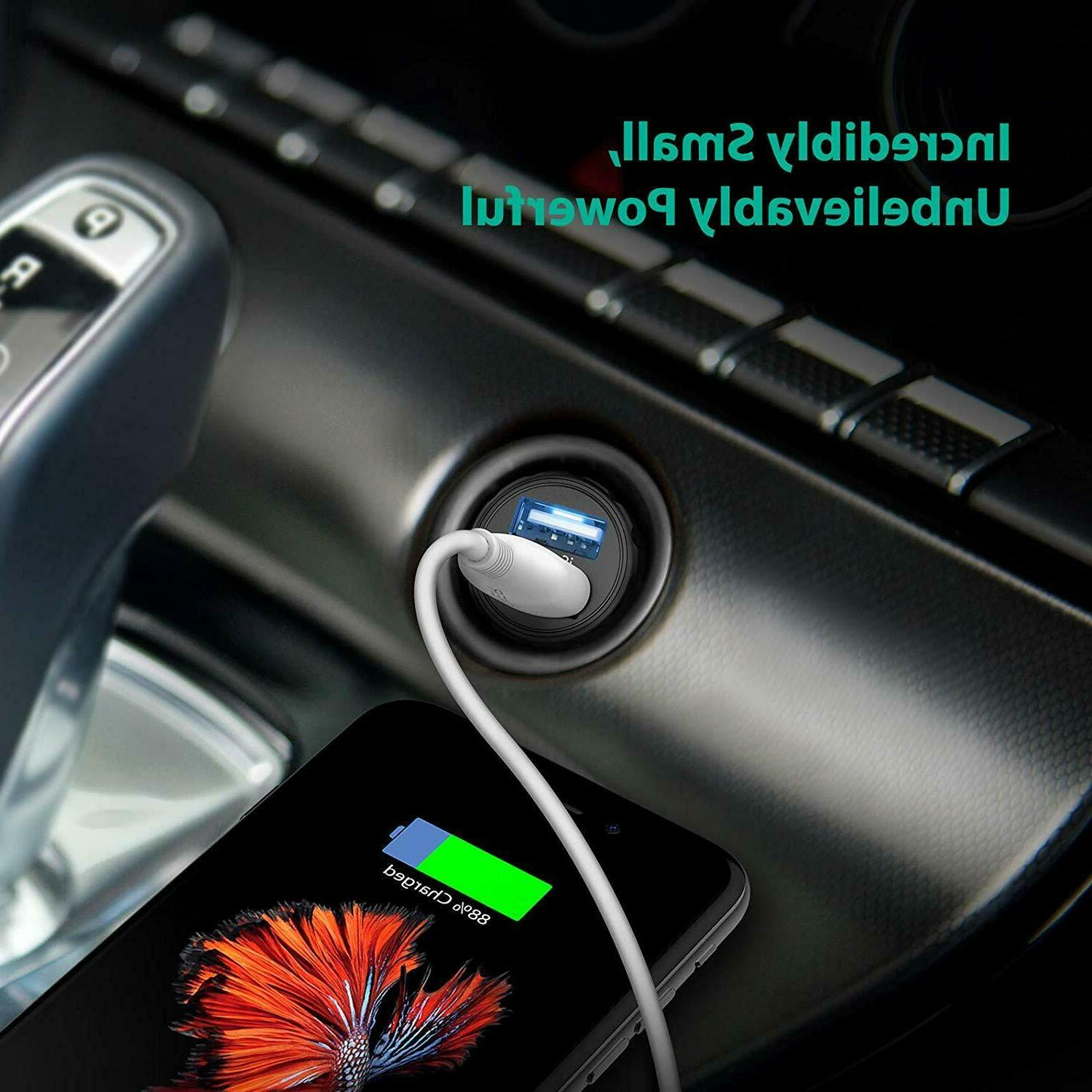 Mini USB Car Charger For Android Chargers Compact
