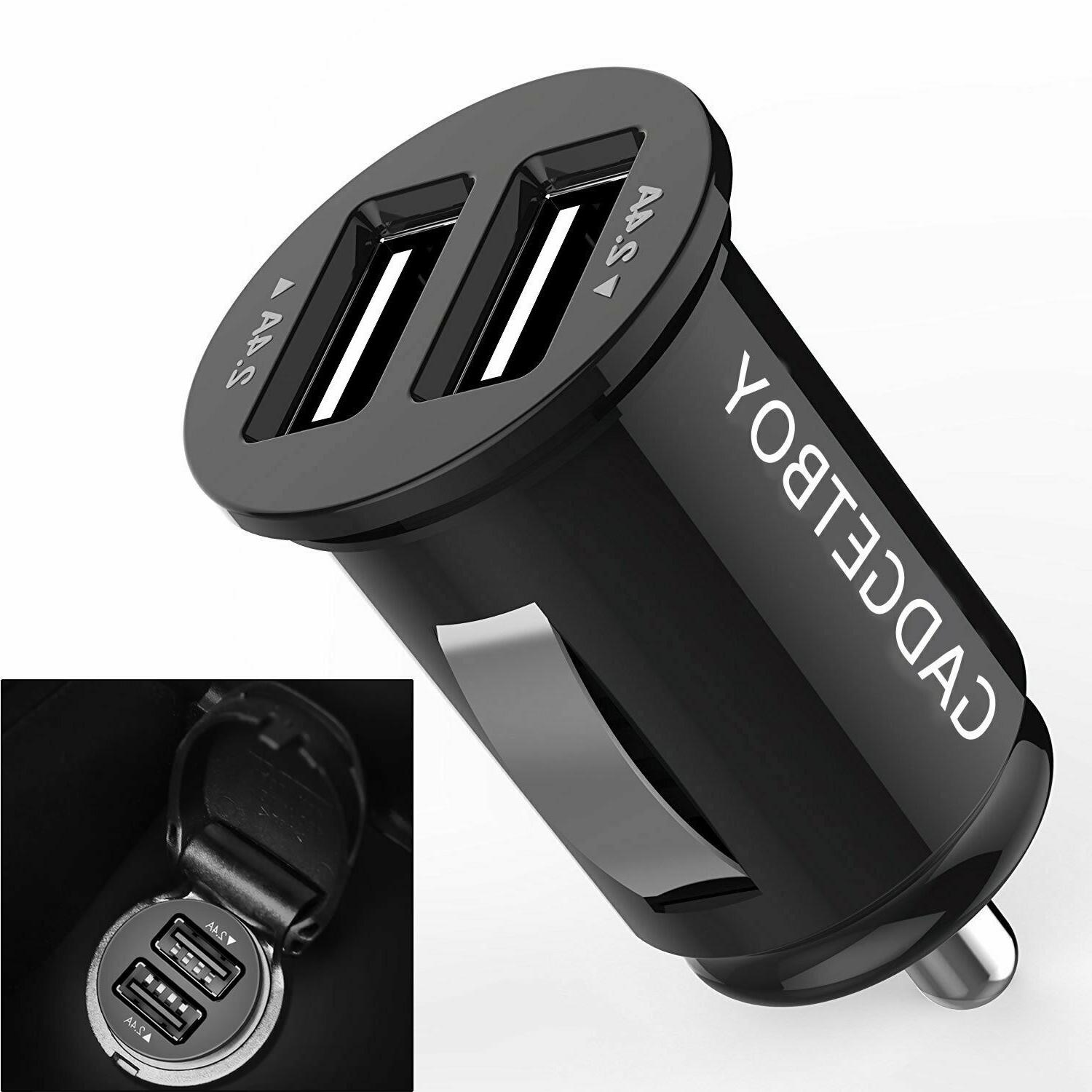 Car Charger Compact Dual Port With Iphone XS X 8
