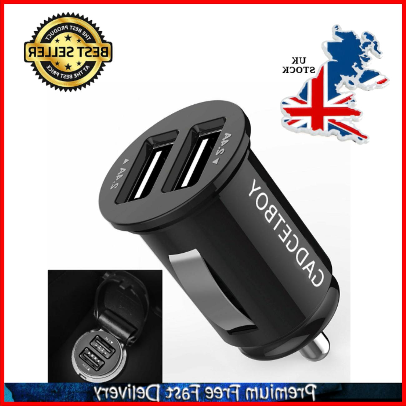 car charger 4 8a 24w compact dual