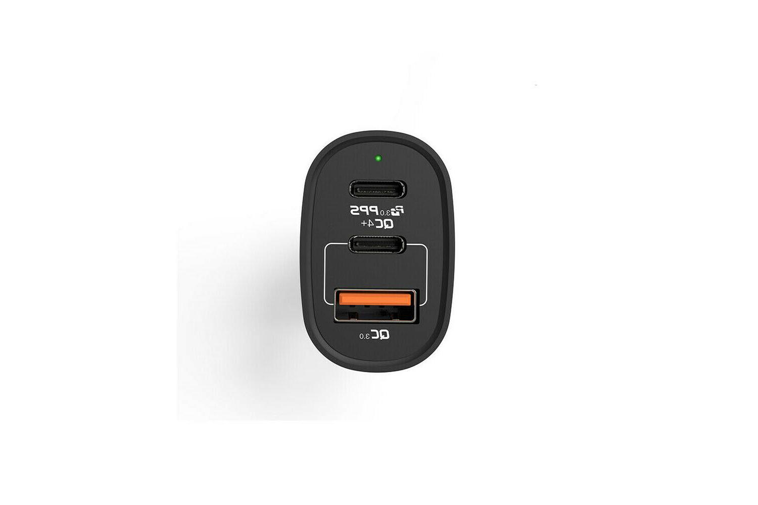 car charger charging 3 c
