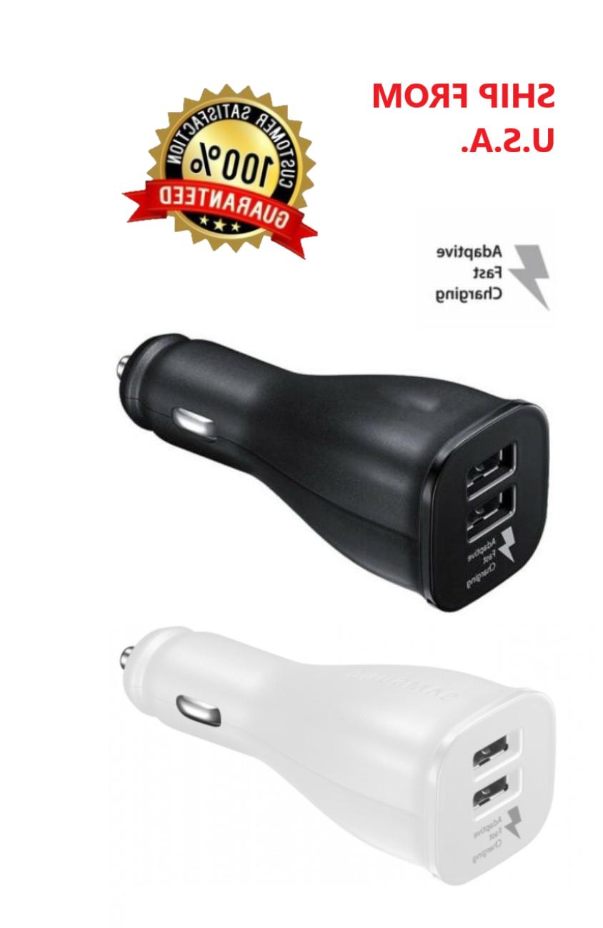 car charger adapter dual usb port quick