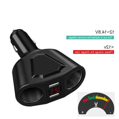 Car Cigarette Lighter USB Charger Power SAlE