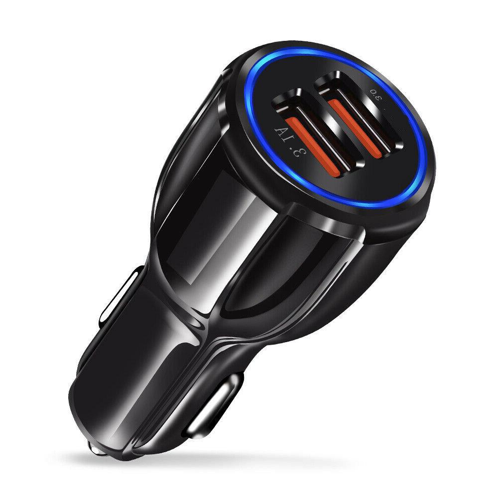 Dual USB Car Charger Charging Samsung LG HTC