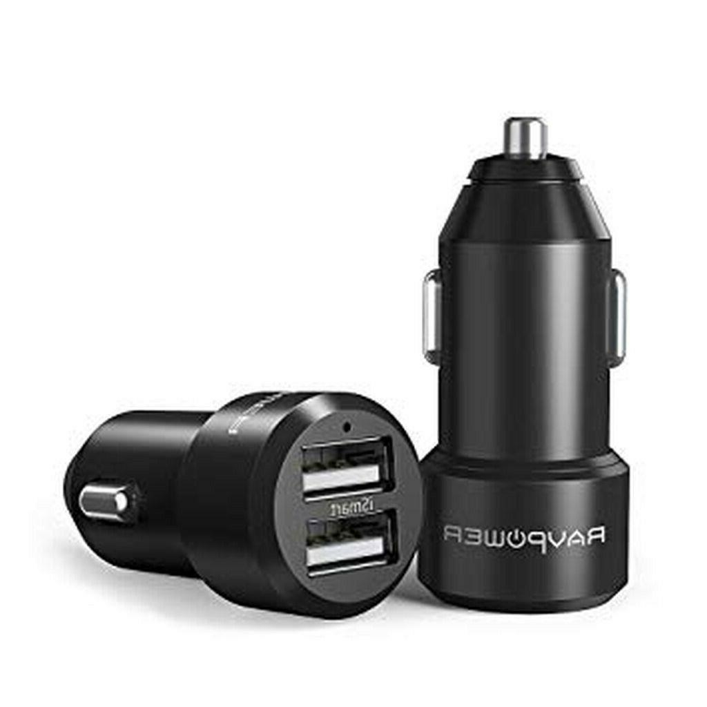 dual usb car charger 24w 4 8a