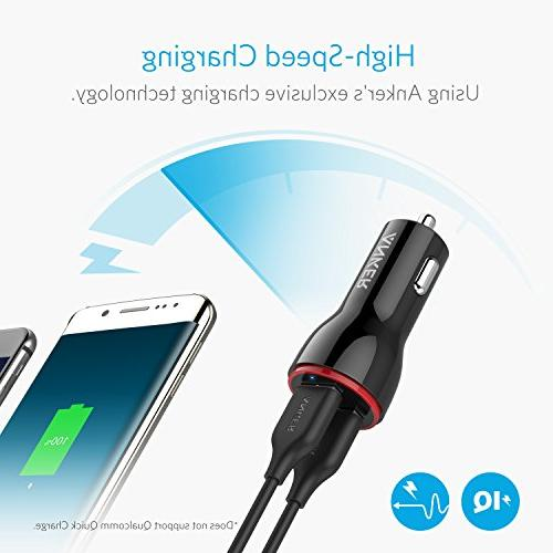 Anker Dual Car for / 8/7 / 2 / Mini, Note and