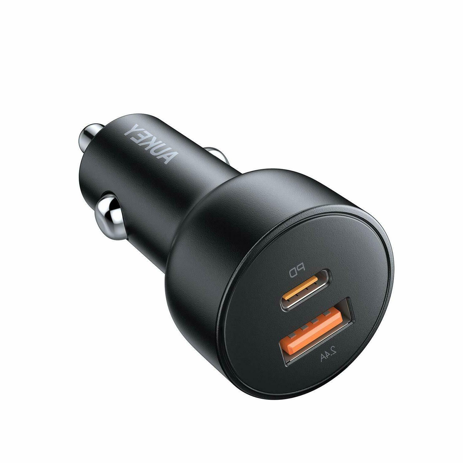 fast car charger 30w usb c pd
