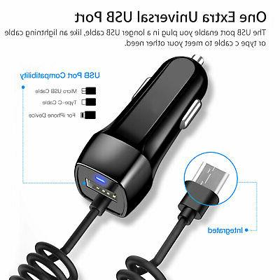 FAST Car Type C USB Charging Samsung Cell