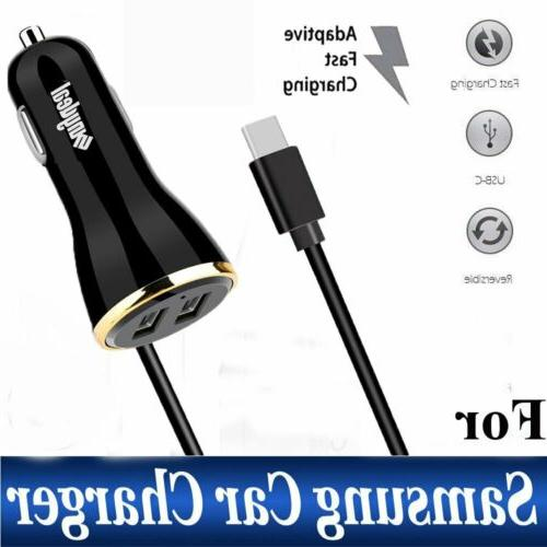 fast rapid usb c car charger