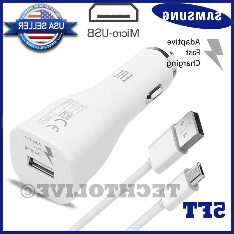 NEW Galaxy Note 4 S6 S7 Edge Car Adaptive Charger
