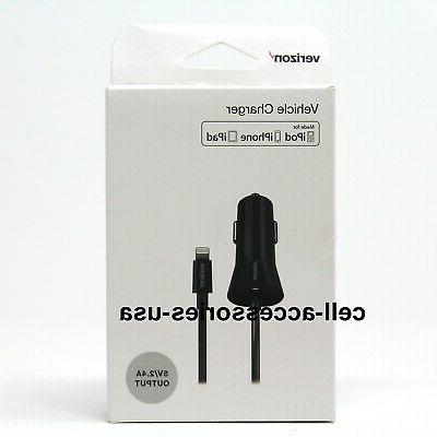 oem car charger mfi lightning for iphone