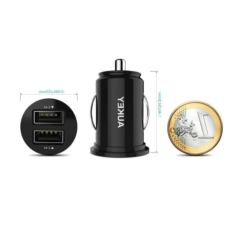 Original Dual Car Charger Black Samsung iPhone