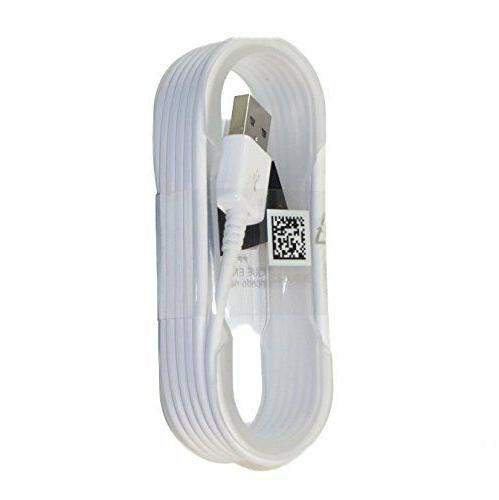 Original Samsung Fast Adaptive Car Charger 5' Micro USB Cable White